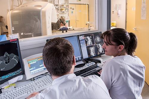 déroulement scanner médical